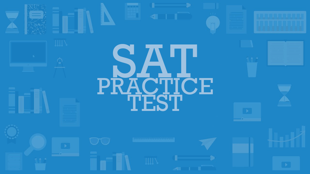 SAT Free Practice Test - COUNSELING CENTER