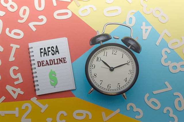 financial aid deadline fall 2020
